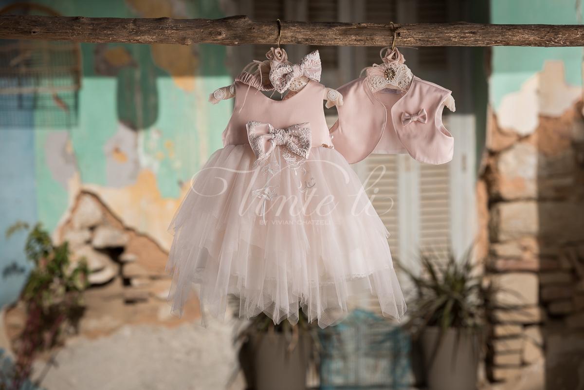 Vinteli   Βαπτιστικά Ρούχα για κορίτσι Vinteli 2705 f8076847e17