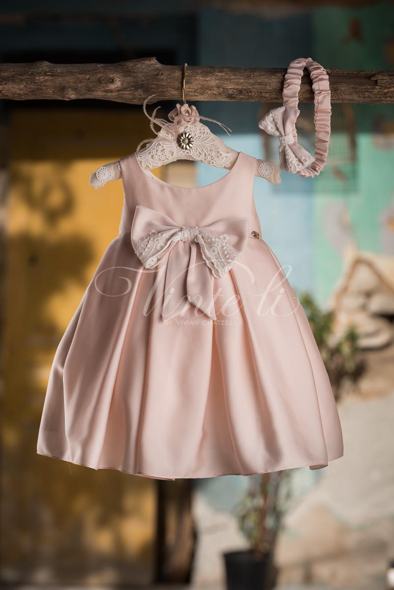 eaca8d37f3a4 Vinteli : Βαπτιστικά Ρούχα για κορίτσι Vinteli 2707