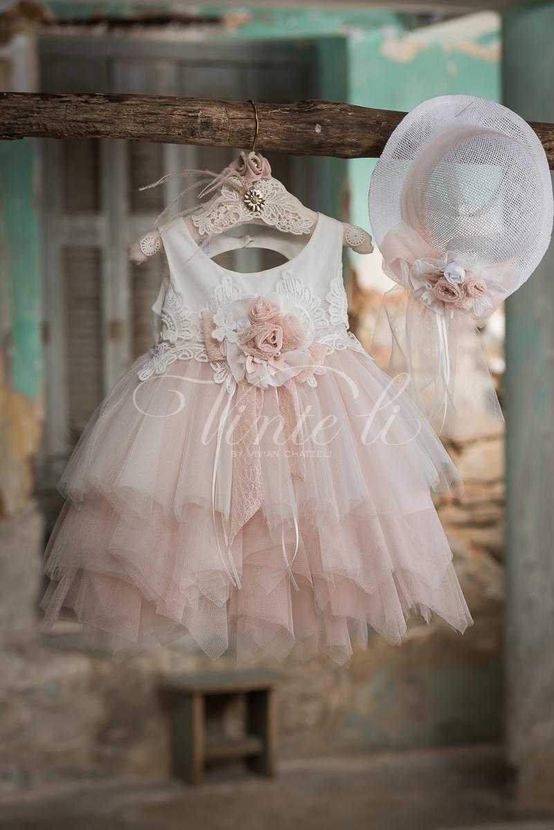 Vinteli   Βαπτιστικά Ρούχα για κορίτσι Vinteli 2720 31815b860d0