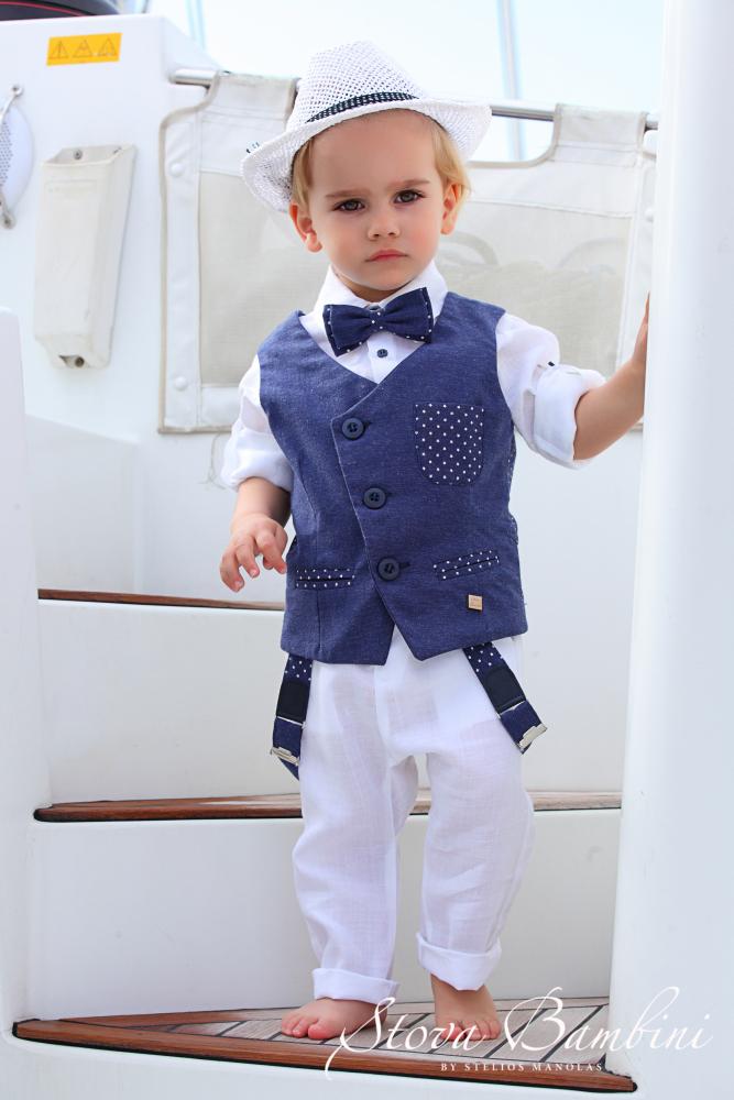 c80b01fdea5 Stova Bambini : Βαπτιστικά Ρούχα για αγόρι Stova Bambini